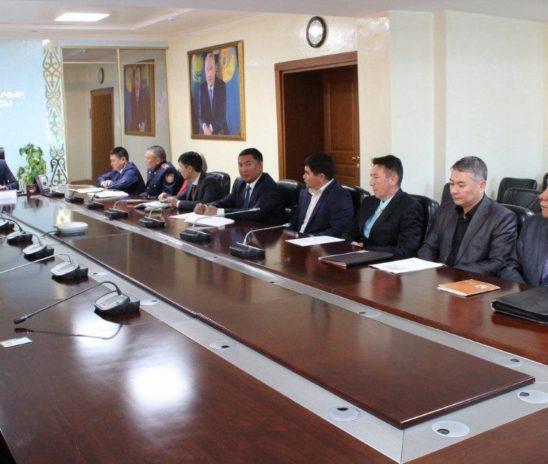 24 ноября 2017 года в г. Талдыкорган был проведен круглый стол при прокуроре Алматинской области.