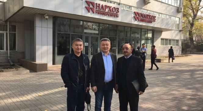 Встреча директоров представительств города Алматы и Алматинской области с руководителями РОО «Центр развития медиации»