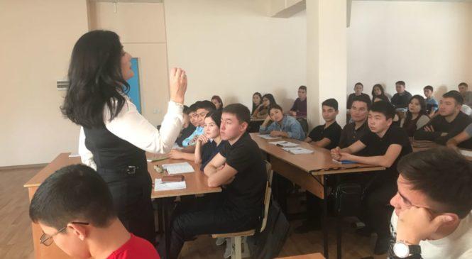Развитие медиации в Республике Казахстан. Встреча со студентами.