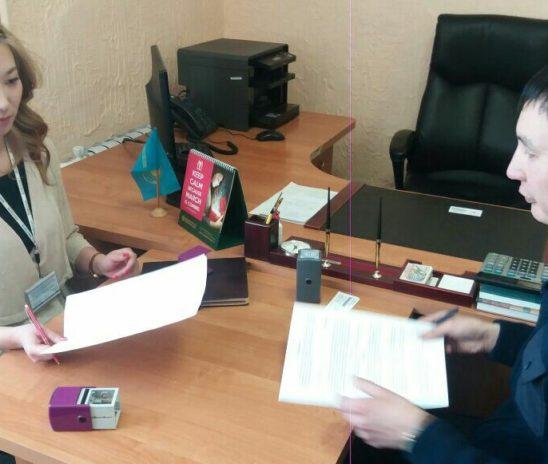 13.03.2018г. Подписание меморандума СКО г. Петропавловск