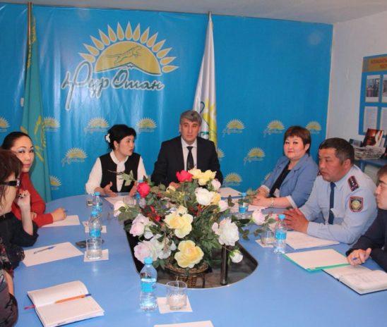 Развития медиации в Есильском районе Акмолинской области