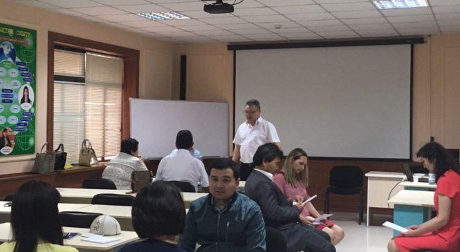 04 июня 2018 года вручение сертификатов по программе «Общий курс медиации» город Шымкент