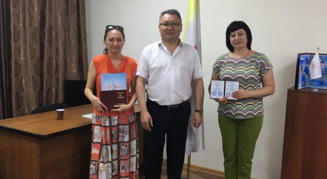 23 июня 2018 года вручение сертификатов по программе «HR manager»