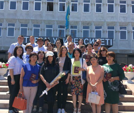 02 июля 2018 года вручение сертификатов по программе «Общий курс медиации» город Алматы