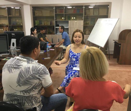 Обучения по программе «Общий курс медиации» ЮКО г.Шымкент