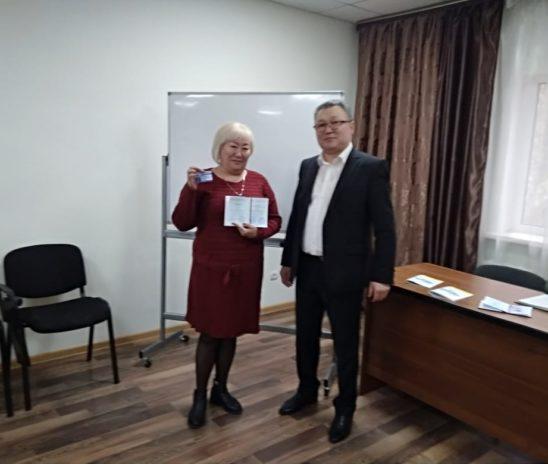 12 октября 2018 года вручение сертификатов по программе «Общий курс медиации» город Астана