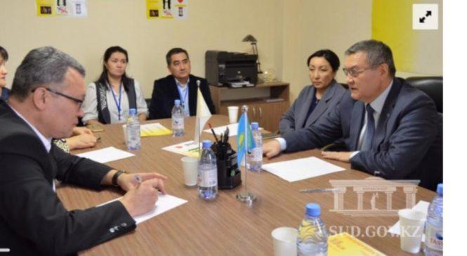 Официальное открытие Единого центра услуг  РОО «Центр развития медиации» в г.Астана