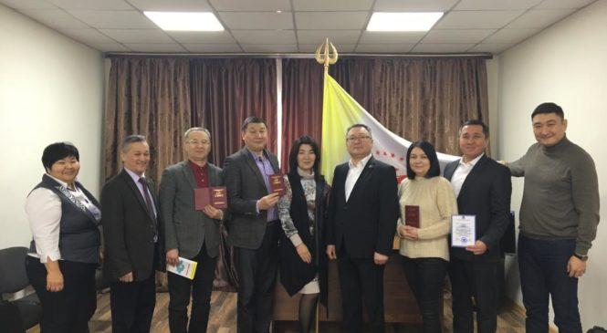 25 января 2019 года вручение сертификатов по программе «Общий курс медиации» город Астана