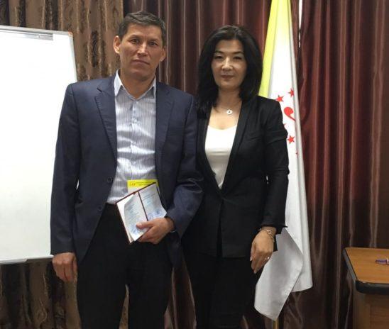 19 апреля 2019 года вручение сертификатов по программе «Общий курс медиации» город Нур-Султан