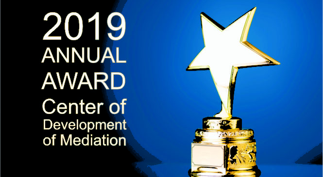 2019 ANNUAL AWARD MEDIATION DEVELOPMENT CENTER